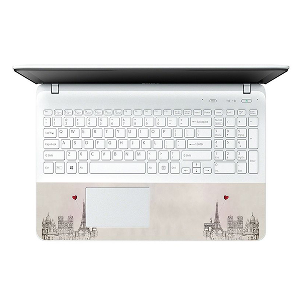Mẫu Dán Decal Nghệ Thuật Cho Laptop LTNT-349