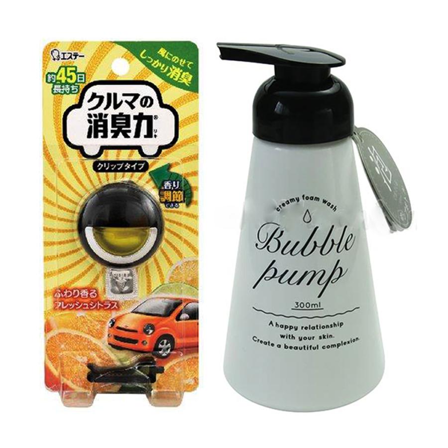 Combo Bình xịt tạo bọt 300ml  Khử mùi ô tô cao cấp hương chanh dạng gắn  Nội địa Nhật Bản - 1 combo - 23144617 , 2789931866661 , 62_10387643 , 250000 , Combo-Binh-xit-tao-bot-300ml-Khu-mui-o-to-cao-cap-huong-chanh-dang-gan-Noi-dia-Nhat-Ban-1-combo-62_10387643 , tiki.vn , Combo Bình xịt tạo bọt 300ml  Khử mùi ô tô cao cấp hương chanh dạng gắn  Nội địa