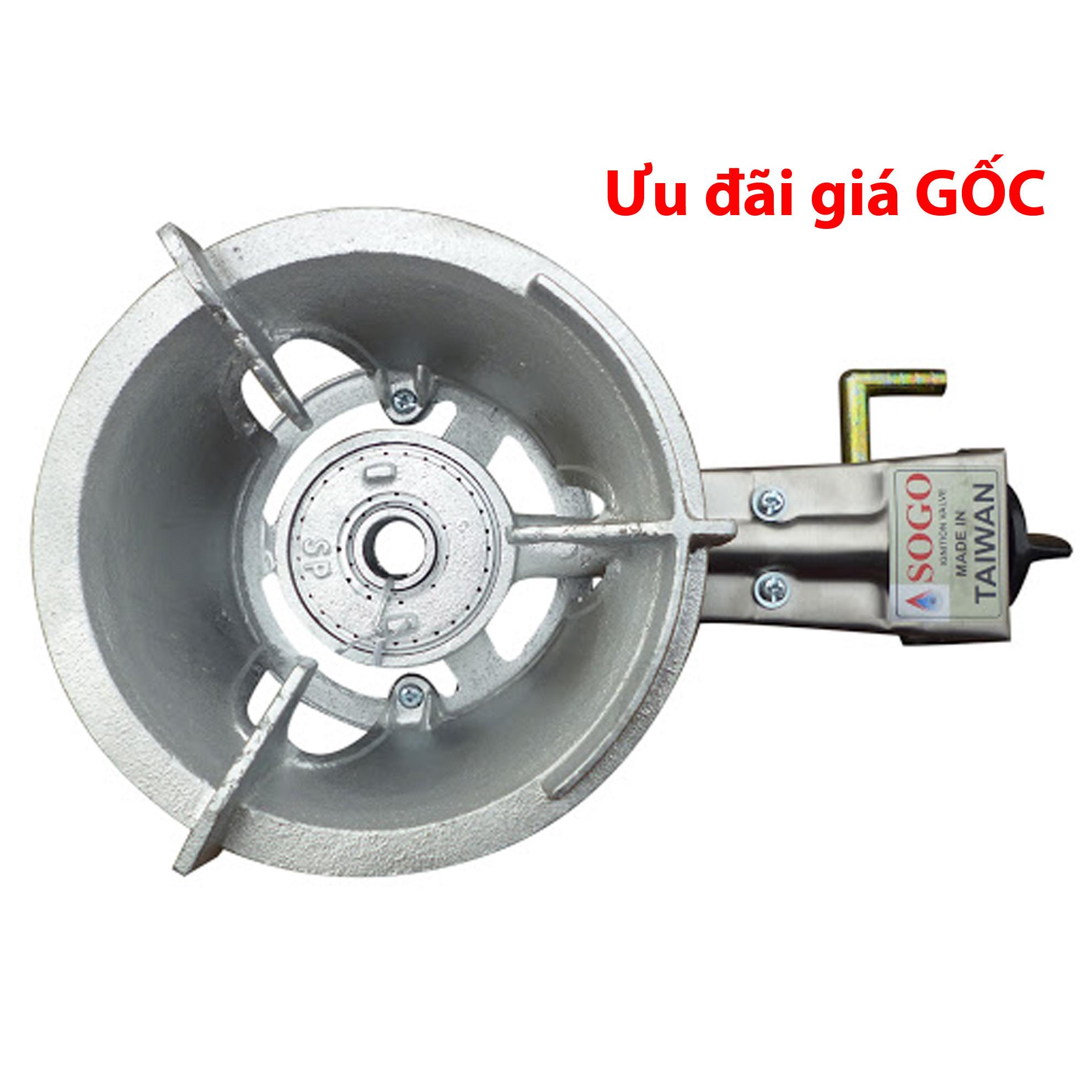 Bếp gas công nghiệp khè mini Sogo-SP GT-3B