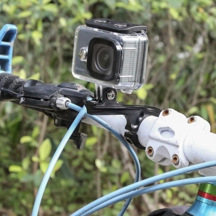 Kẹp ghi đông kim loại siêu cứng gắn cho GoPro Hero nối dài