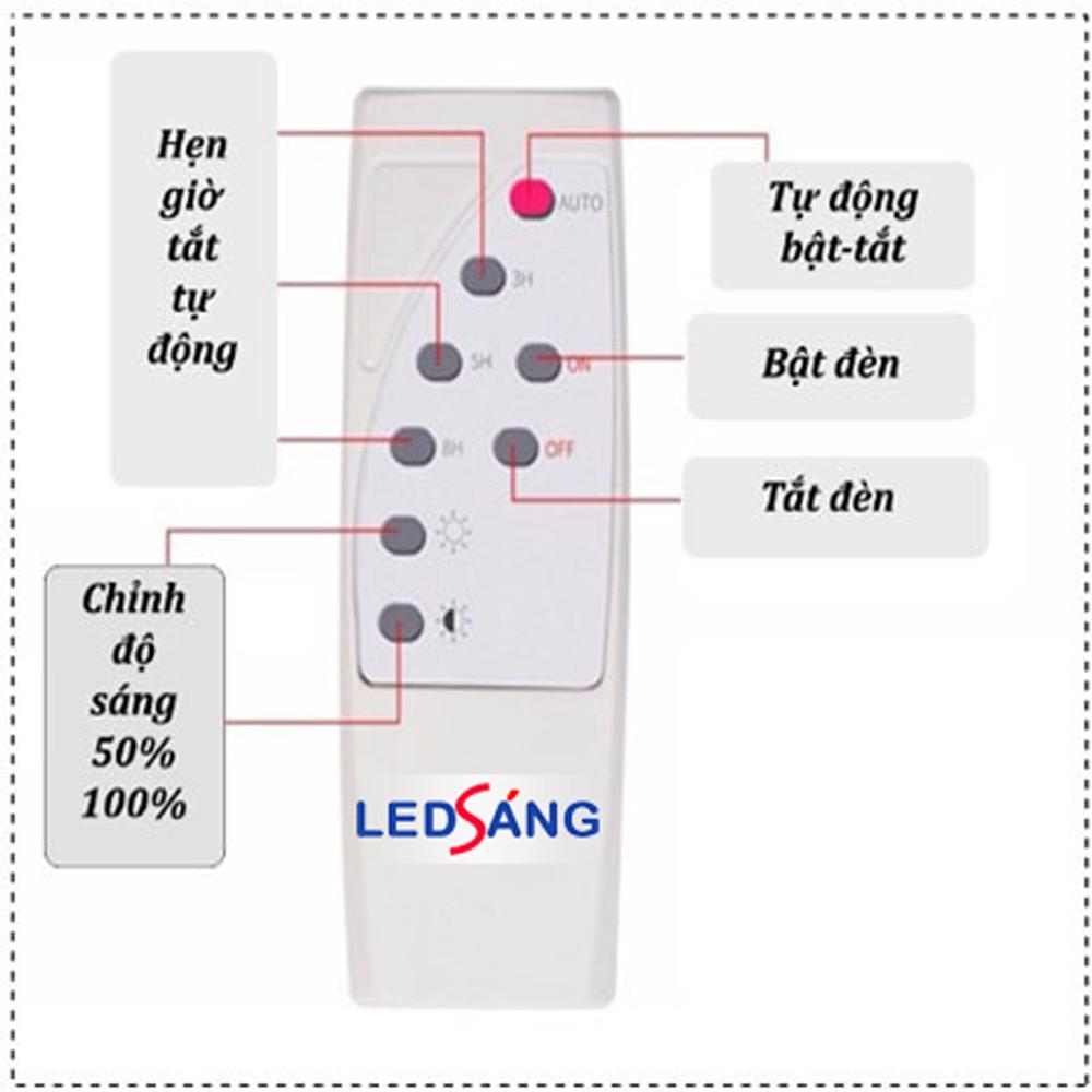 Đèn led năng lượng mặt trời - Đèn năng lượng mặt trời - Đèn pha năng lượng mặt trời  Đèn nlmt - Đèn pha led năng lượng mặt trời - Đèn led ngoài trời - Đèn dùng sánh sáng mặt trời  SL2 LEDSANG