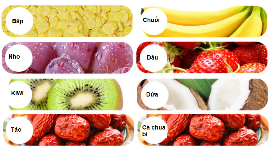 Hình ảnh Ngũ cốc sữa chua trái cây và hạt dinh dưỡng ( 400gram )