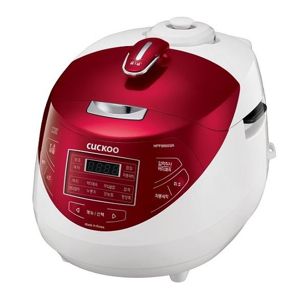Nồi cơm áp suất điện từ CUCKOO CRP-HPF0660SR