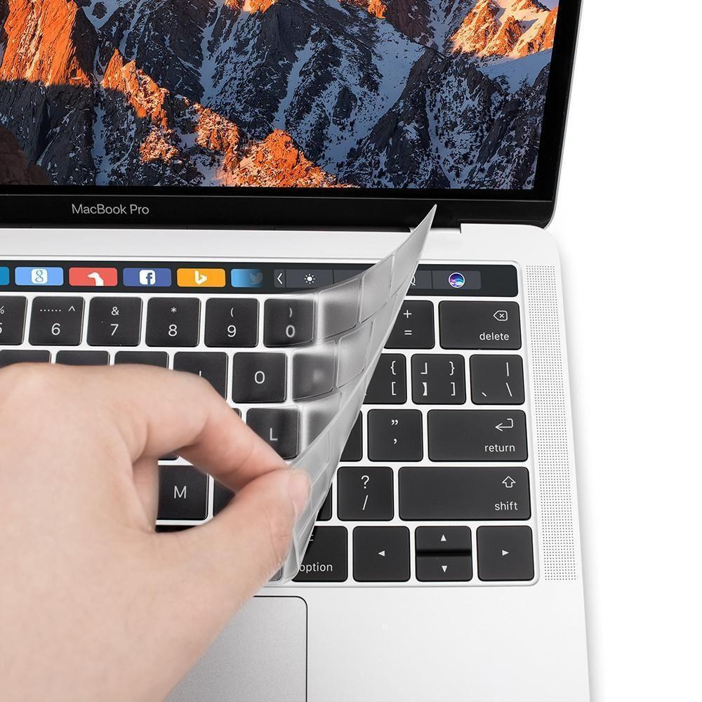 Miếng lót phím cao cấp JCPAL Fitskin cho MacBook (trong suốt)