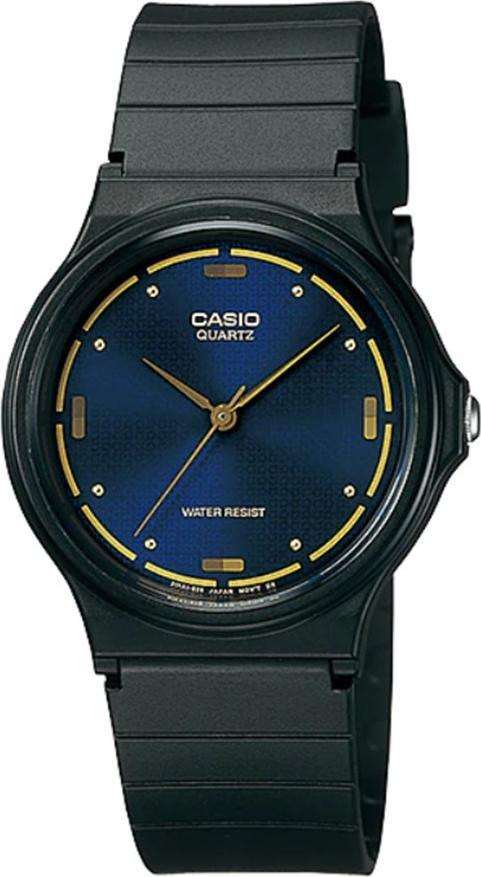 Đồng hồ unisex dây nhựa Casio MQ-76-2ALDF