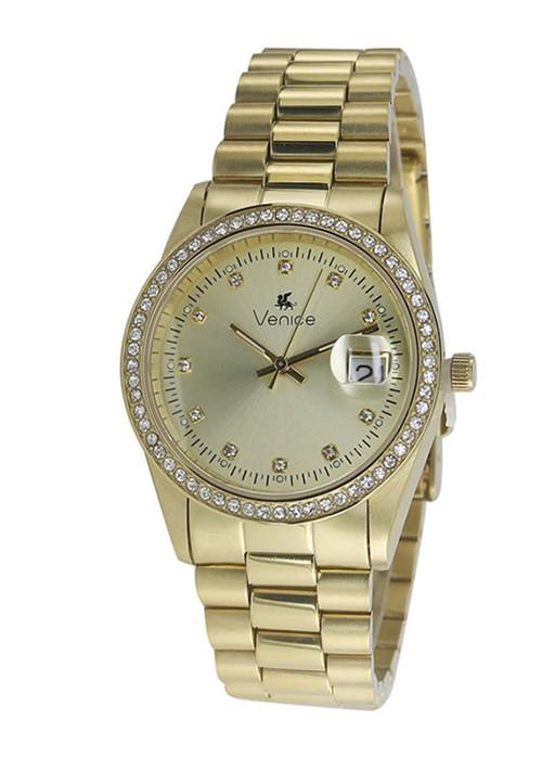 Đồng hồ đeo tay hiệu Venice C2502SLDGGSG