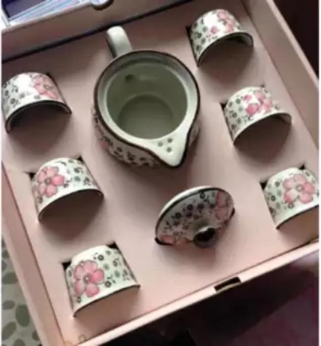 bộ bình trà 6 chén