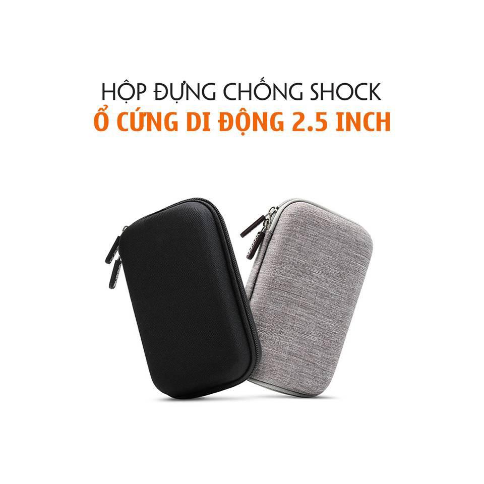 Bóp Đựng Dành Cho Ổ Cứng 2.5 inch (2 Ngăn)