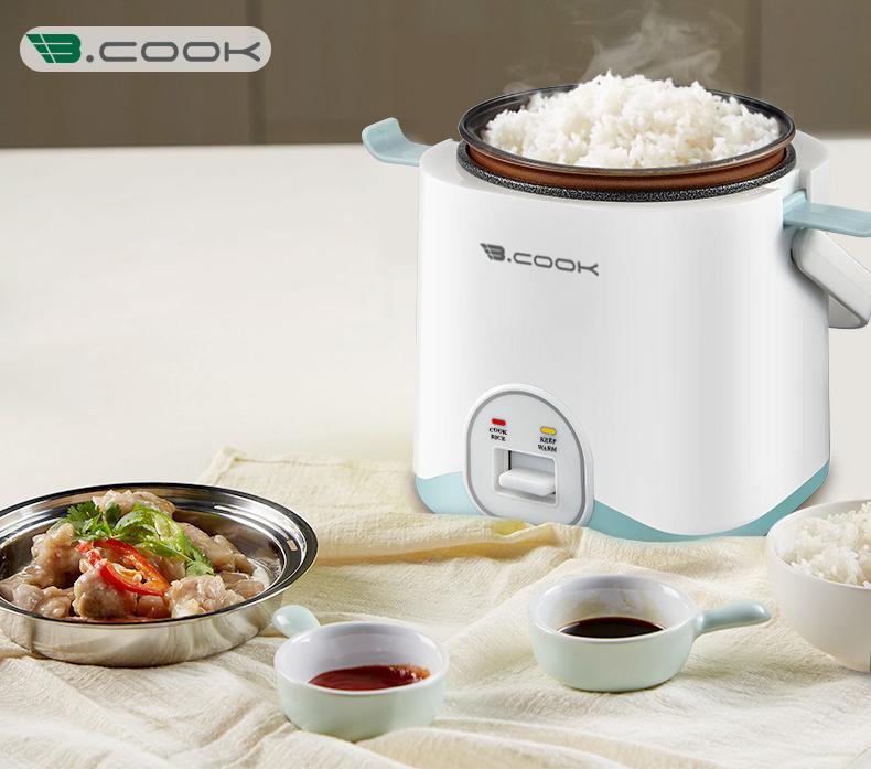Nồi cơm điện mini - Nồi nấu nhanh Bcook - Hàng chính hãng