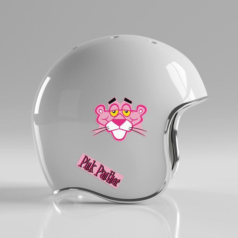 Pink Panther - Single Sticker hình dán lẻ