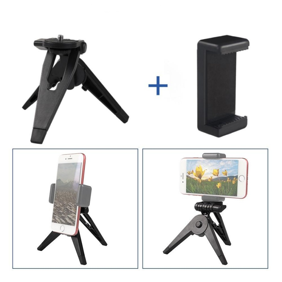 Tripod giá đỡ 3 chân mini để bàn cho điện thoại, gopro  - Giá đỡ  kẹp lò xo - 23540625 , 8677405737811 , 62_19583161 , 90000 , Tripod-gia-do-3-chan-mini-de-ban-cho-dien-thoai-gopro-Gia-do-kep-lo-xo-62_19583161 , tiki.vn , Tripod giá đỡ 3 chân mini để bàn cho điện thoại, gopro  - Giá đỡ  kẹp lò xo