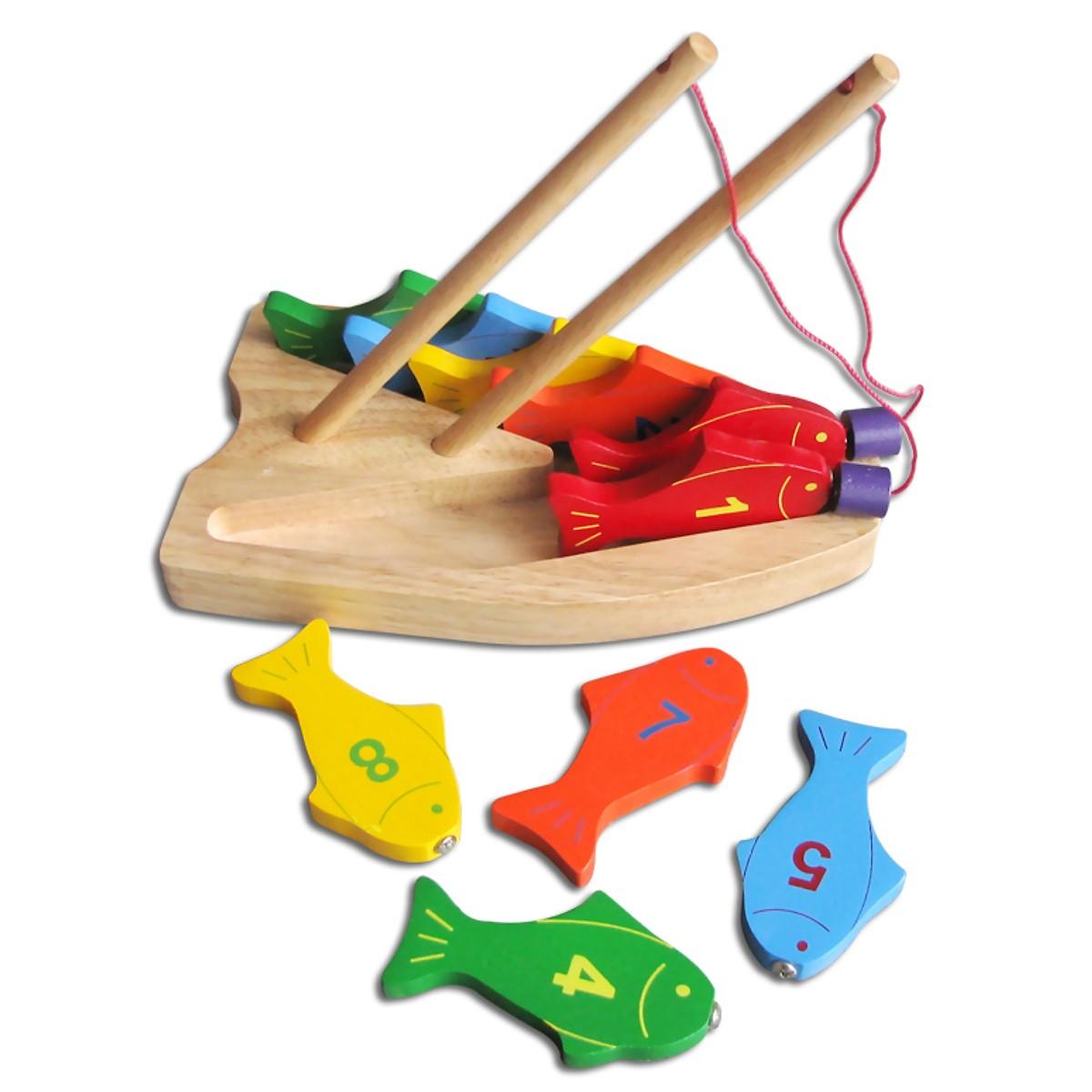 Bộ Câu 10 Cá Số  - Đồ chơi trí tuệ