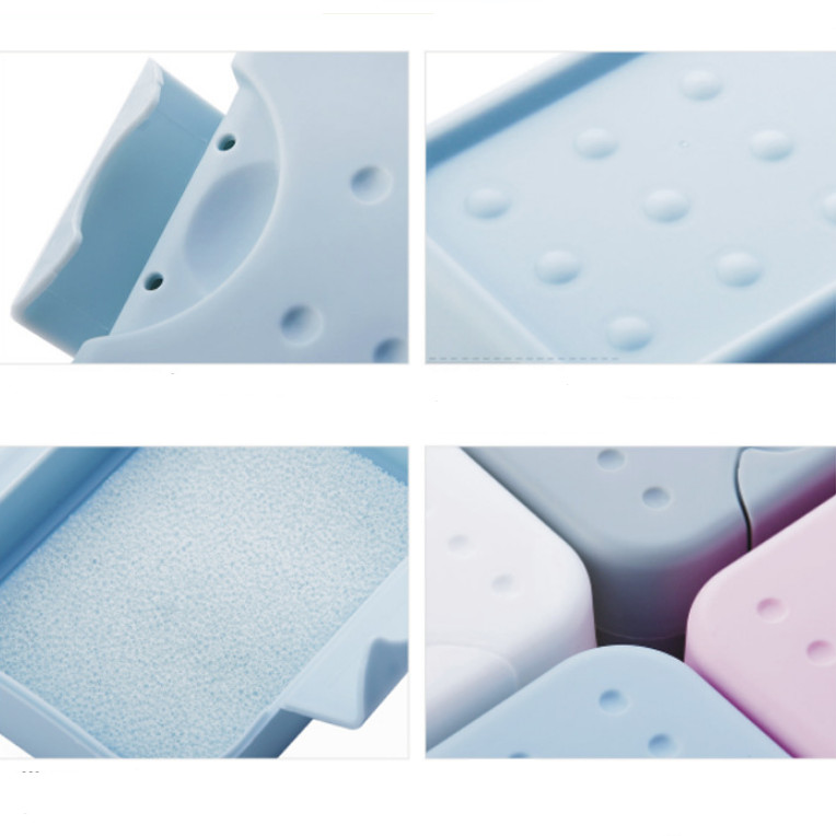 Hộp đựng xà phòng đa năng nhiều màu có nắp đậy chống thấm nước mang đi du lịch, dã ngoại tiện ích, mã XP205 - giao màu ngẫu nhiên