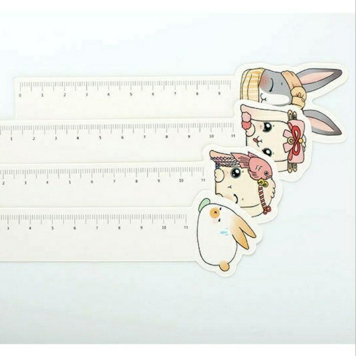 Bookmark đánh dấu sách thỏ có dòng thướt hộp 30 tấm