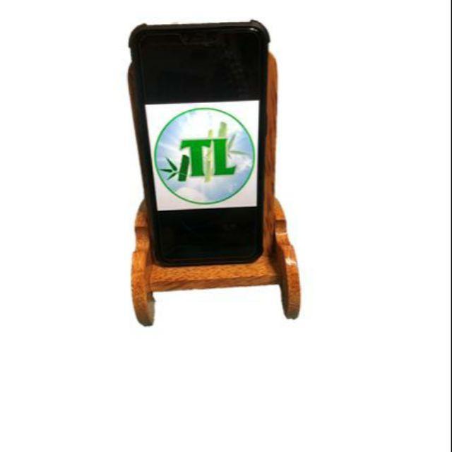 Giá đỡ điện thoại ( hình chữ nhật ) nguyên liệu dừa