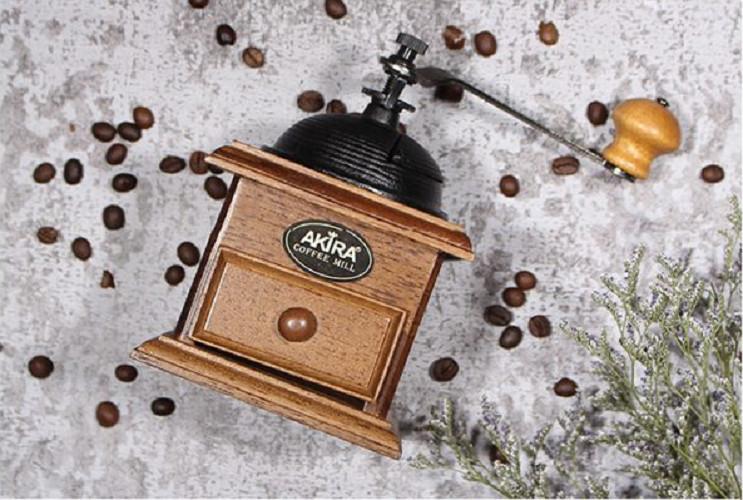Cối Xay Tay Cổ Điển Của Akirakoki Nắp Vòm A2- AKIRAKOKI MANUAL COFFEE GRINDER A2