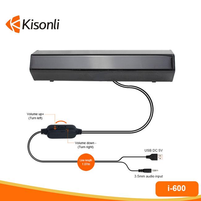 Loa 2.0 Kisonli i-600 - giao ngẫu nhiên - 1984 -hàng nhập khẩu