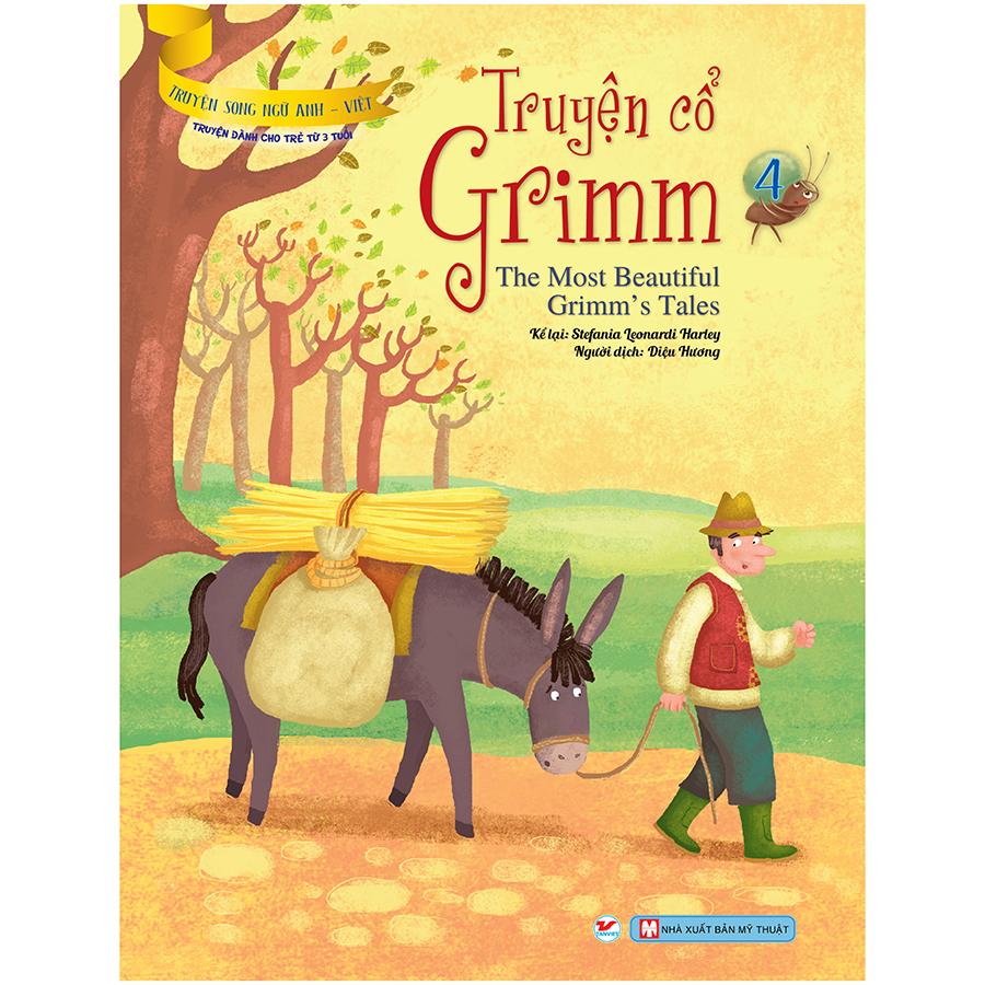 Truyện Cổ Grimm 4 - Truyện Song Ngữ Anh - Việt