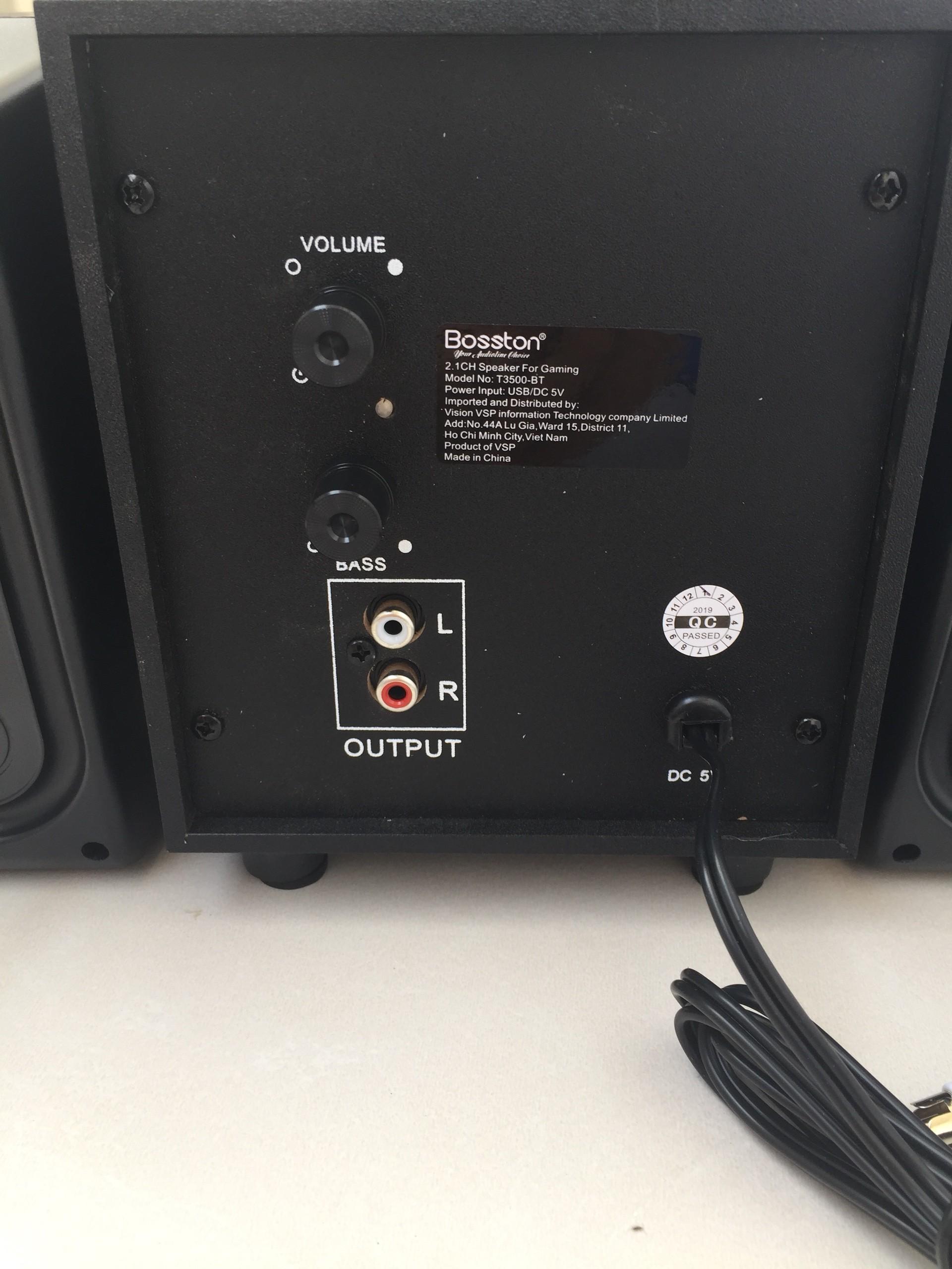 Loa Vi Tính (Có tích hợp thêm chức năng Bluetooth) Bosston T3500-BT