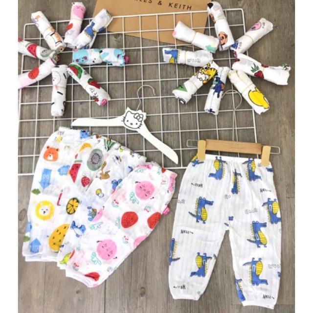 Quần chục dài cotton giấy LOẠI 1 cho bé trai/bé gái siêu xinh