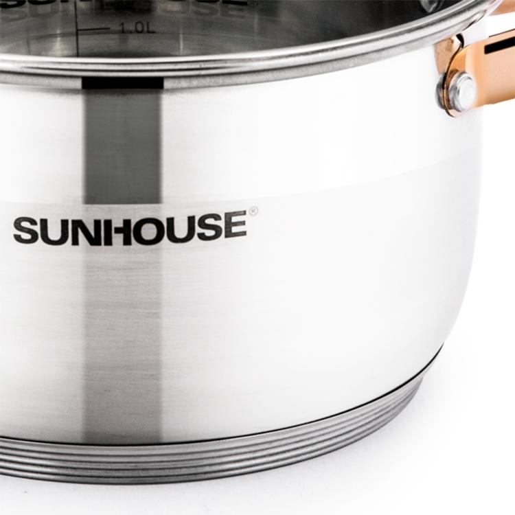 Nồi Inox 5 Đáy Sunhouse SHG24216
