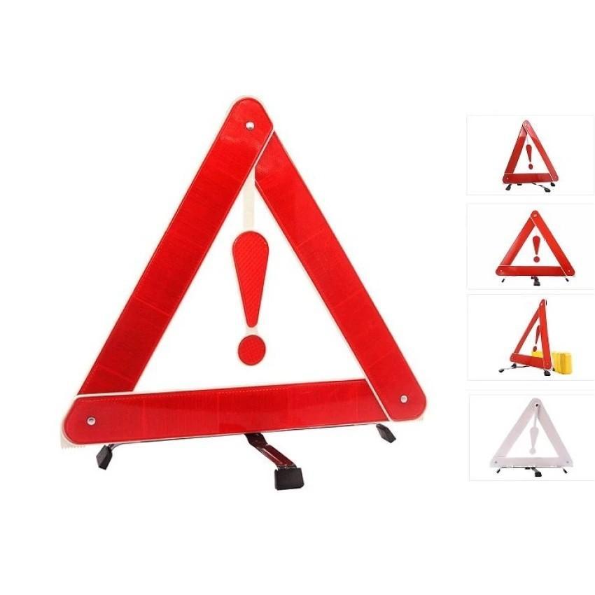 Bộ 1 biển tám giác cảnh báo phản quang và 1 tay công vặn lốp xe