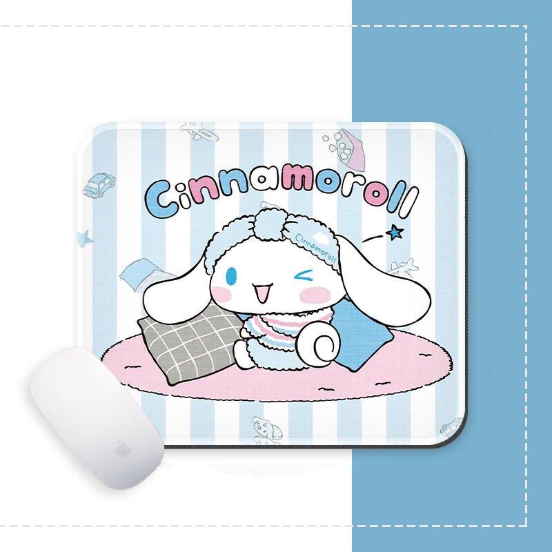 Miếng di chuột in hình Chú Chó CINNAMOROLL đáng yêu miếng kê chuột miếng lót chuột chibi anime xinh xắn tiện lợi