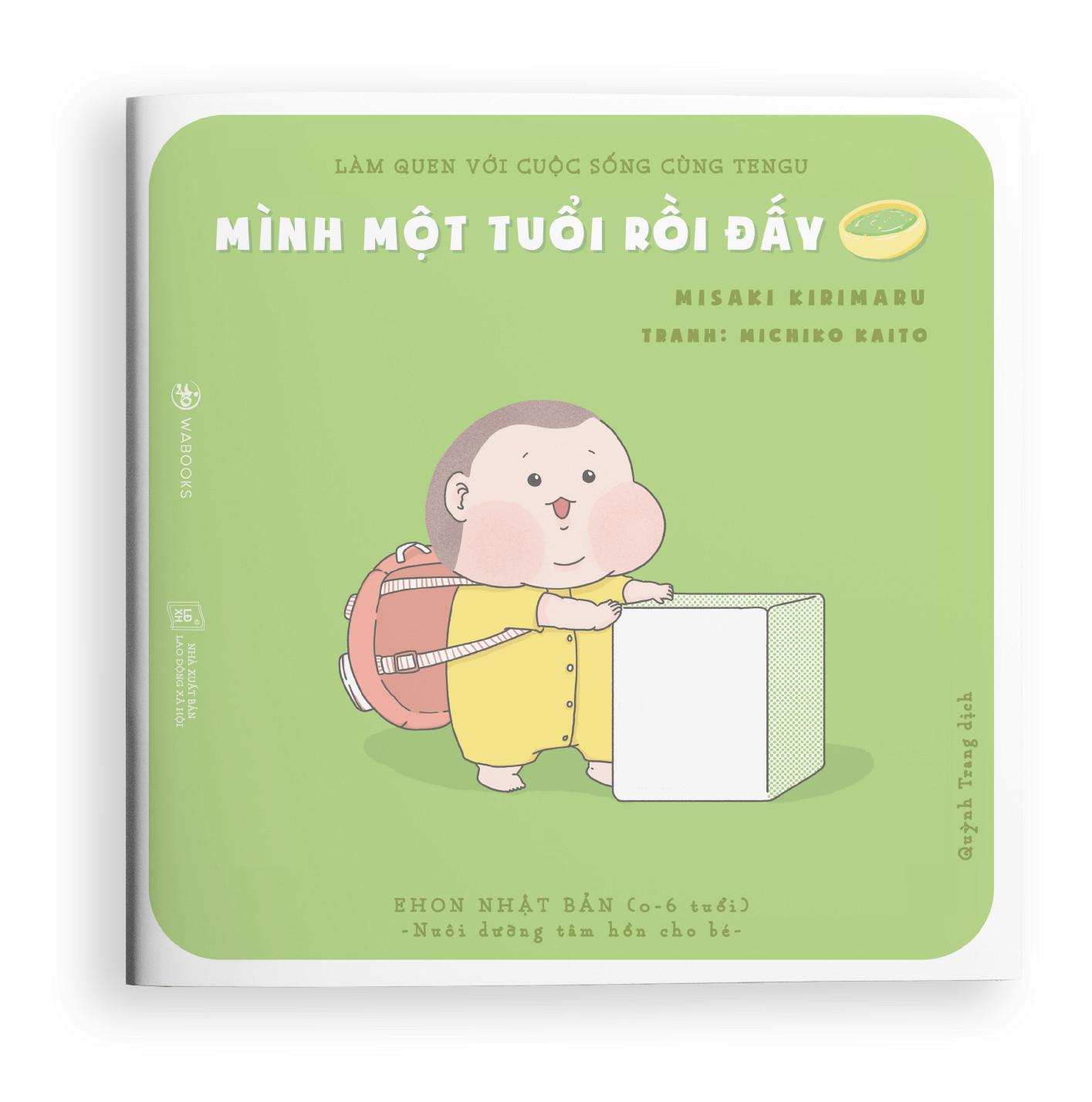 Làm quen với cuộc sống cùng Tengu - Combo 4 cuốn Ehon Nhật Bản cho bé 0-6 tuổi