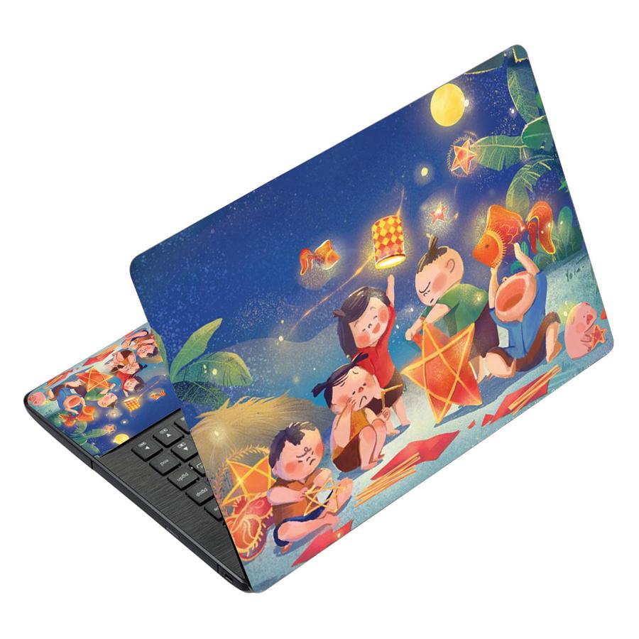 Miếng Dán Decal Dành Cho Laptop Mẫu Hoạt Hình LTHH - 368