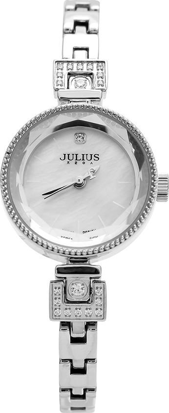 Đồng Hồ Nữ Dây Thép Julius JA981 (25mm) - Bạc