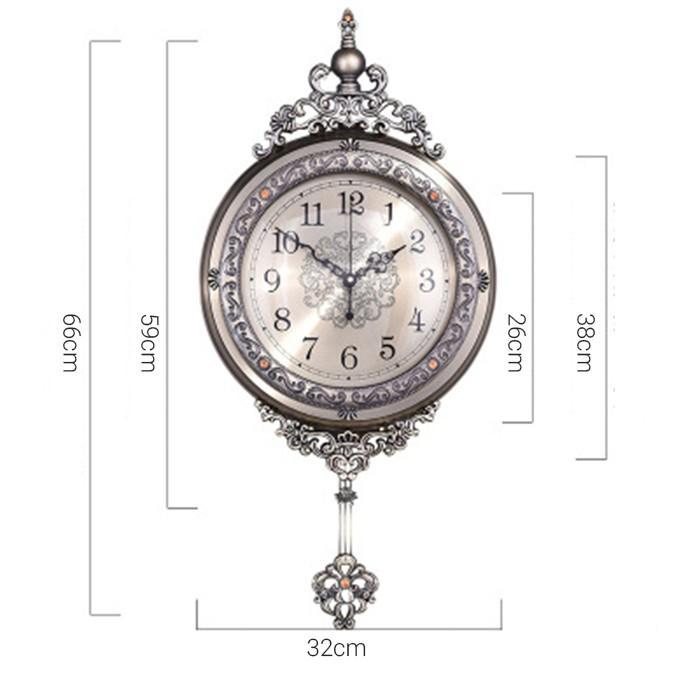 Đồng hồ treo tường tân cổ điển trang trí treo tường, Đồng hồ tân cổ điển