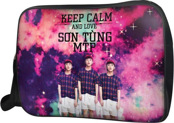 Túi Đeo Chéo Hộp Unisex Keep Calm And Love Sơn Tùng Mtp - TCVP221 34 x 9 x 25 cm