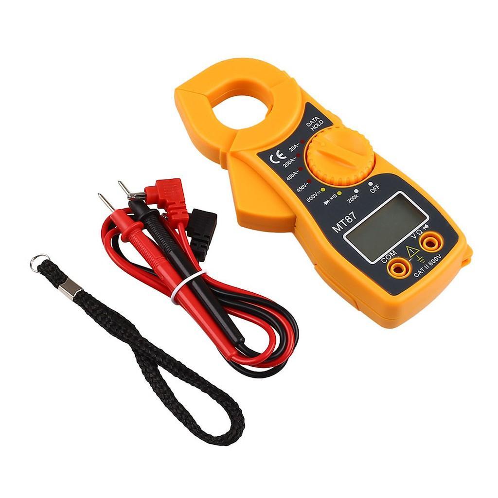 Đồng hồ đo điện Ampe kìm MT87 tặng kèm dây đo