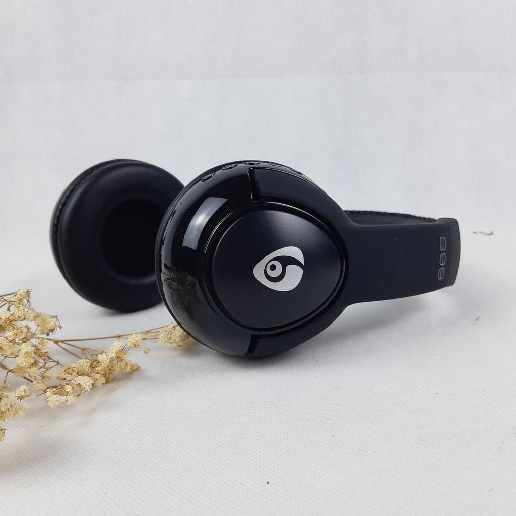Tai nghe choàng đầu có MIC Bluetooth Powermax S99- Hàng chính hãng