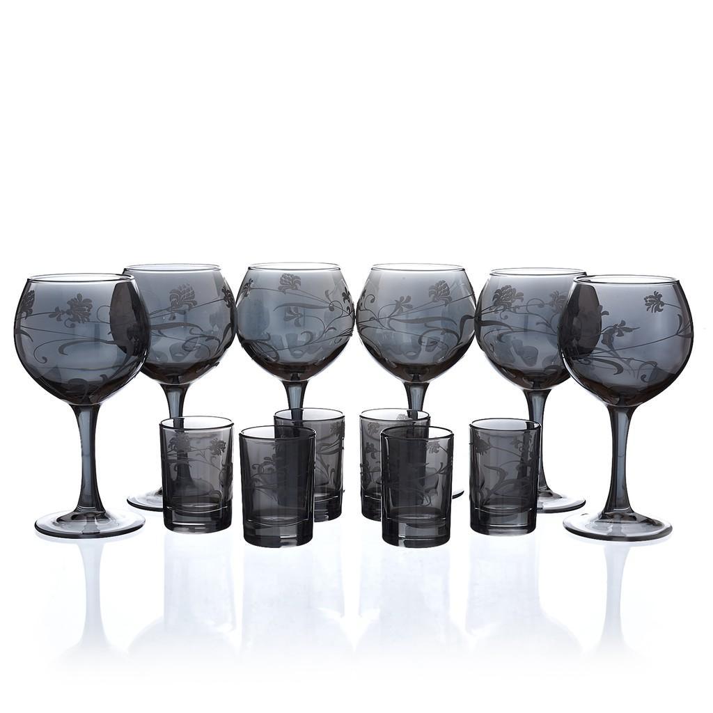 Bộ 12 ly cốc sản phẩm thủy tinh cao cấp - 53020