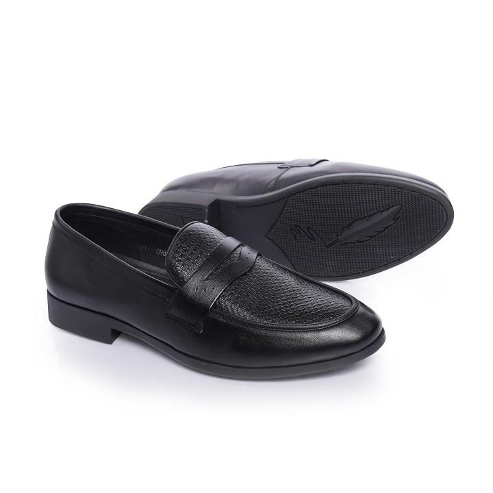 Giày Lười GL09 - Giày Lười Nam Công Sở Đen