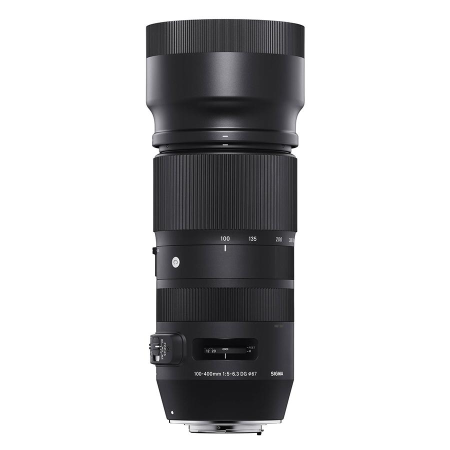 Ống Kính Sigma 100-400 F5-6.3 DG OS HSM Contemporary For Nikon - Hàng Chính Hãng