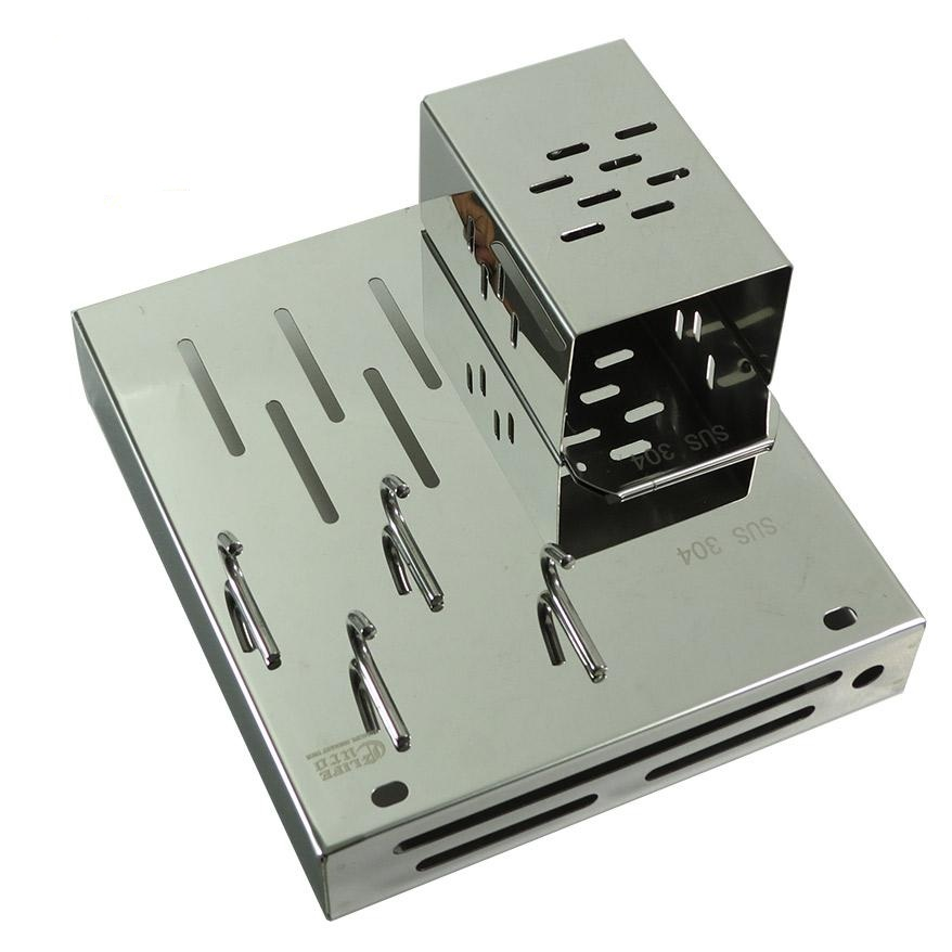 Bộ cài dao - muỗng Inox SUS 304 Eurolife EL-K7 (Trắng bạc)