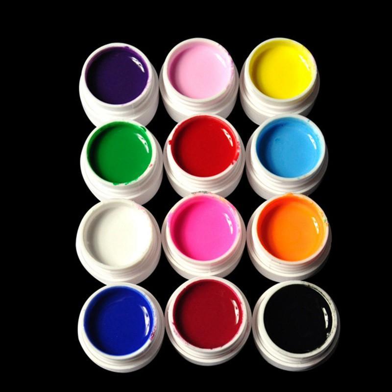 Gel vẽ nail , vẽ móng 12 màu siêu đặc