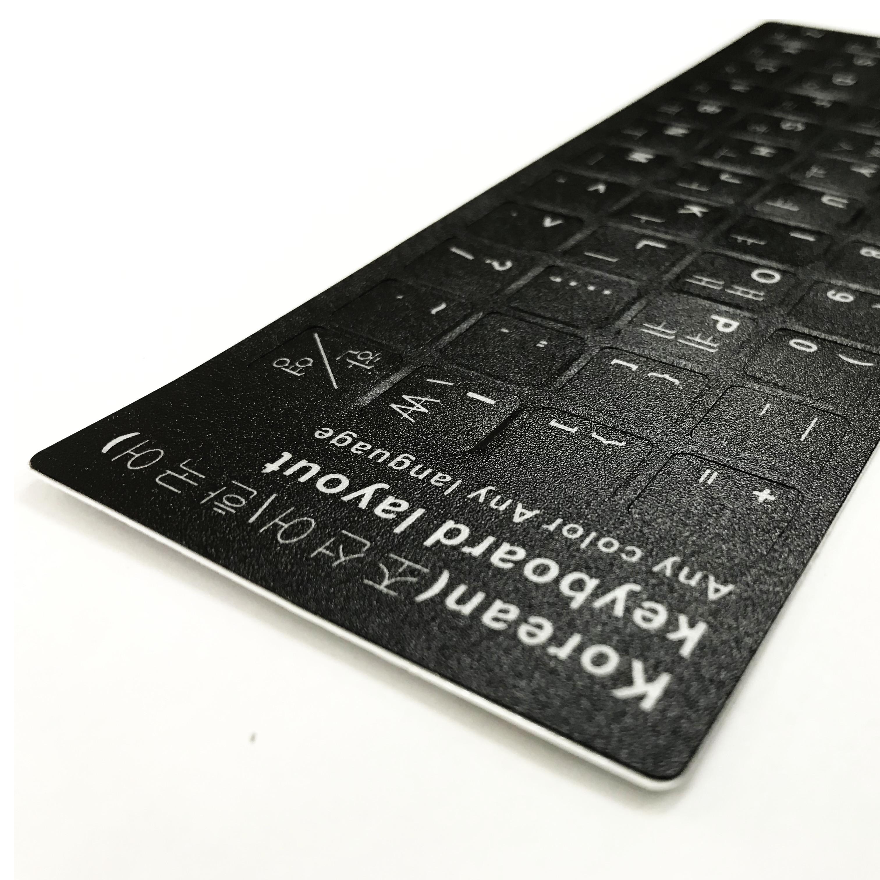 Miếng dán bàn phím tiếng Hàn Quốc
