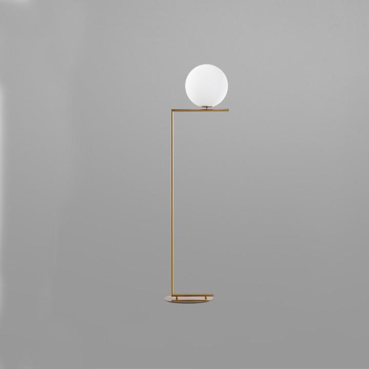 Đèn Cây Đứng DH0005 Chất Liệu Hợp Kim Tĩnh Điện Thiết Kế Phong Cách Mỹ Tối Giản Tiết Kiệm Không Gian Phù Hợp Với Các Không Gian Khác Nhau (45 x 160cm)