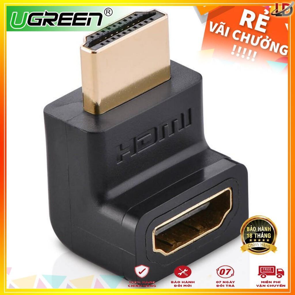 Đầu nối HDMI vuông góc 90 độ - UGREEN 20110 - (màu đen)