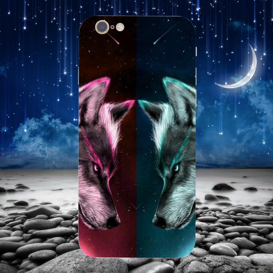 Ốp Lưng Con Sói,Dành Cho Máy iPhone 6 ,iphone 6s Ốp Cứng Viền TPU Dẻo,Ốp Cao Cấp Chính Hãng ,Mã SI0010