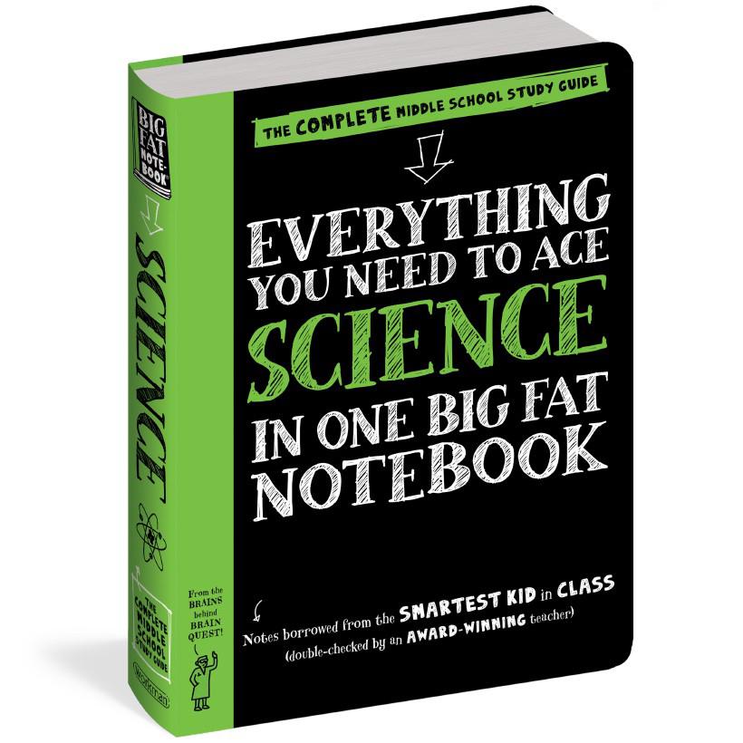 Sách - Everything you need to ace science - Sổ tay khoa học Á Châu Books