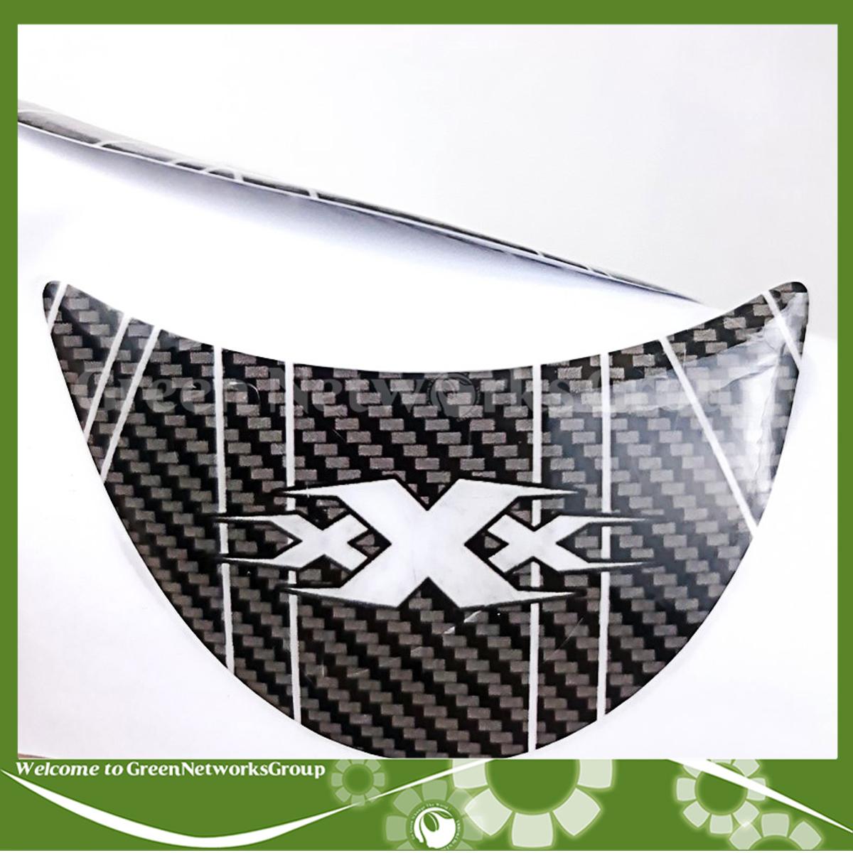 Tem xương cá dán chống trầy bình xăng vân Carbon cho xe moto - Tem dán bình xăng Moto kiểu xương cá vân Carbon Green Networks Group ( 1 Tem )