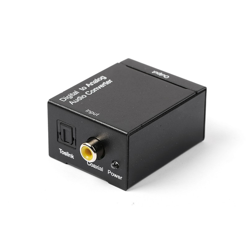 Bộ chuyển đổi Optical Audio to RCA Audio - Digital to Analog Audio R/L