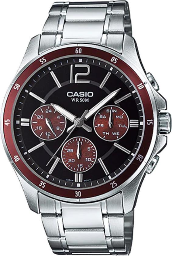 Đồng hồ nam dây kim loại Casio MTP-1374D-5AVDF