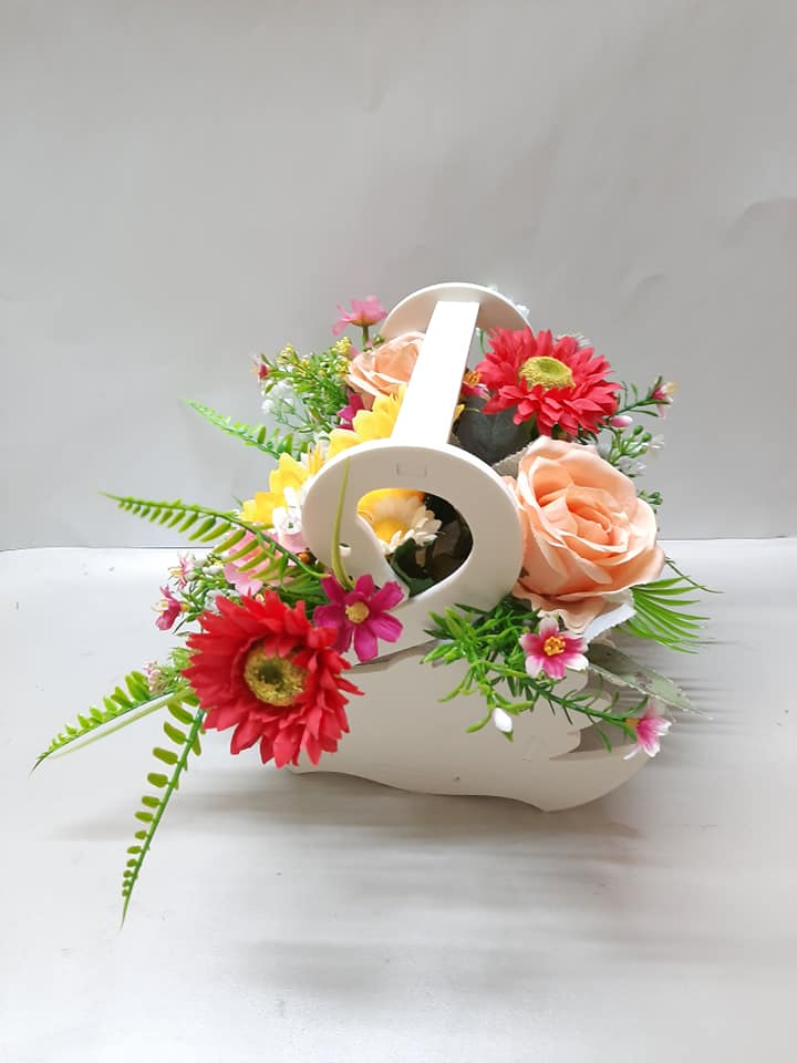 Giỏ hoa Mặt Trời bé con