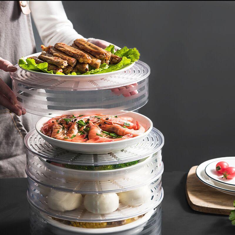 Lồng bàn đậy thức ăn thông minh GS115, 5 Tầng, chất liệu nhựa PP cao cấp -  Phụ kiện nhà bếp khác Thương hiệu Goldseee | SieuThiChoLon.com