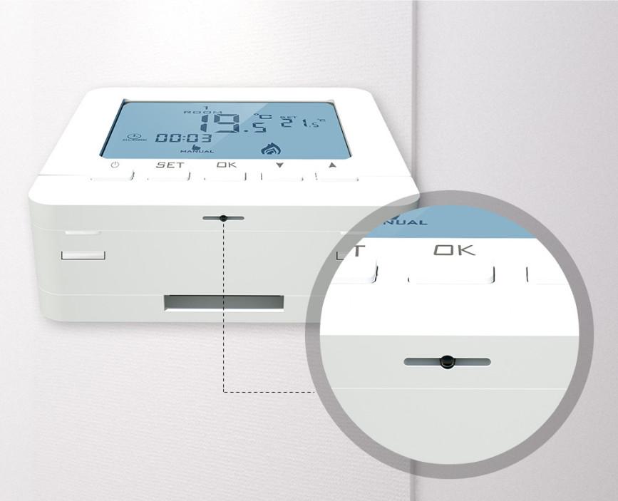 Công Tắc Điều Khiển Nhiệt Độ Dùng Pin SHP-SM6
